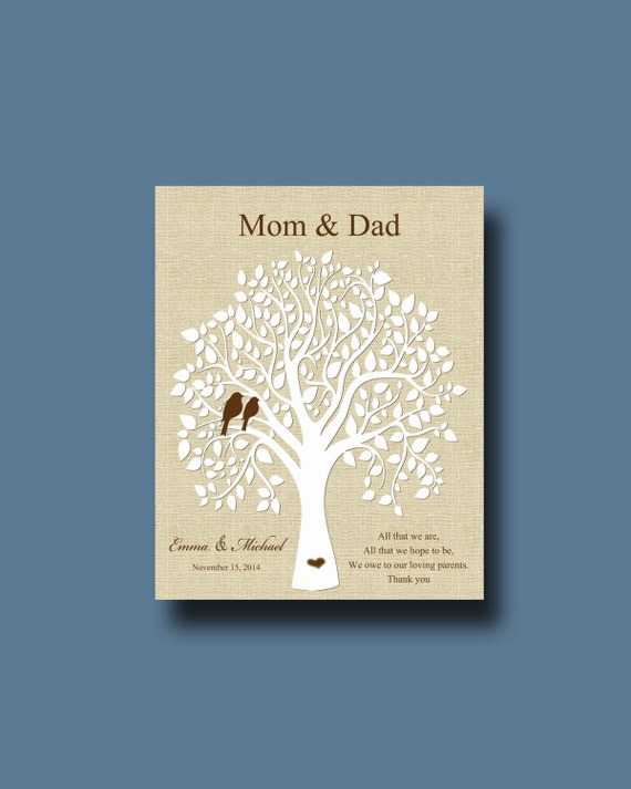 Wedding Gift For Groom Dad : Wedding Gift for Parents from Bride and Groom, Parents wedding Gift ...