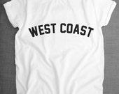 West Coast T-Shirt - America Unisex Streetwear Shirt