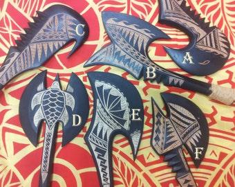 Samoan War Clubs