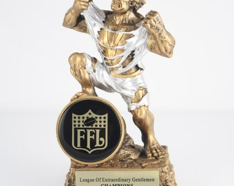 Monster Fantasy Football Trophy! Free Engraving!