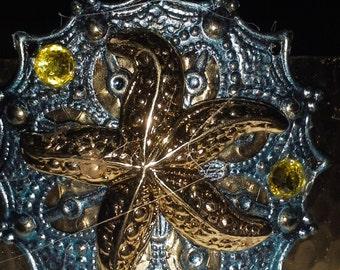 Starfish Cuff Bracelet = B 100