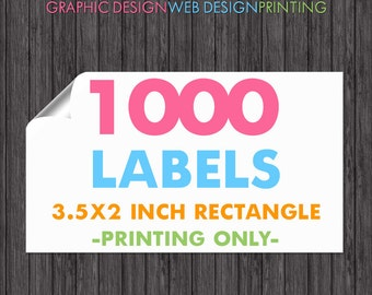 1000 Printed Labels, Business Card Labels, Sticker Printing, Business Card Stickers, Business Printing, Promotional