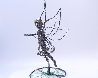 Wire Sculpture Fairy Princess