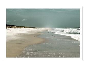Seascape Landscape Photography Coastal Print Oversize Beach Ocean Sea Surf Water