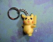 Pikachu Keychain or Ornament YOU PICK