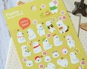Funny Stickerworld COZY BEAR Spring stickers