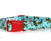 Winterberry,,,,,Christmas Holly Dog Collar