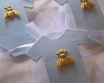 Bumble Bee baby shower Onesie Favor Bags 10 pieces