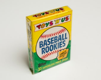 NOS 1989 Topps Toys R Us Baseball Rookies Sealed Complete Set