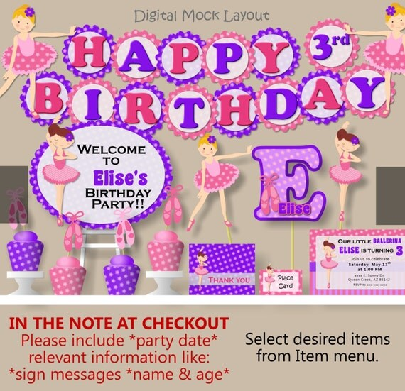 birthday cake toppers little dance invitations