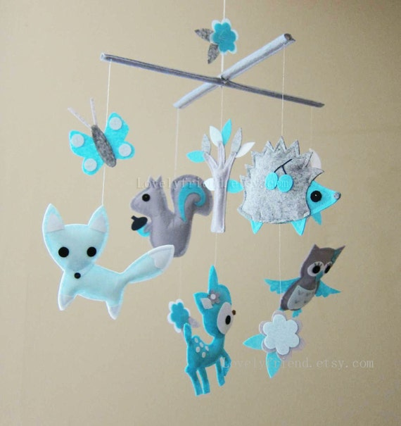 Baby Crib Mobile - Baby Mobile - Baby Boy decorative Mobile -