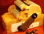 SCP Gold Series, Electric Turned JUMBO Wool Drum Carder