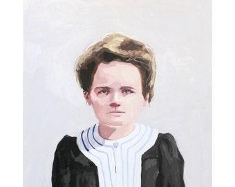 "8x10"" print - Marie Curie"