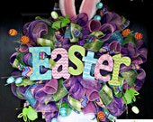 Deluxe  Easter Bunny Wreath