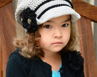 CROCHET PATTERN - City Slouchy - a crochet slouchy hat pattern, crochet hat pattern (Toddler, Child, Adult sizes) - Instant PDF Download