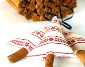 Primitive Scandinavian Christmas Decorations Scented Cinnamon Tree