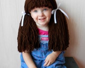 Dorothy Wig Costume Halloween Costume Brown Wigs Costumes for Kids