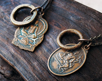 Vintage Deity Necklace - Design your Own - Made to Order - Buddhist, Hindu, Chinese, Thai