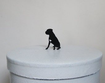 Cake Topper, Wedding Cake Topper - Boxer cake topper
