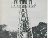 Flying Walendas circus aerialist family vintage photo