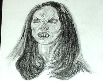 Drusilla Vampire Print