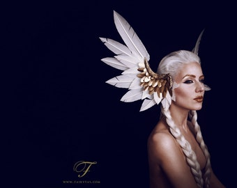 Valkyrie headdress MADE TO ORDER
