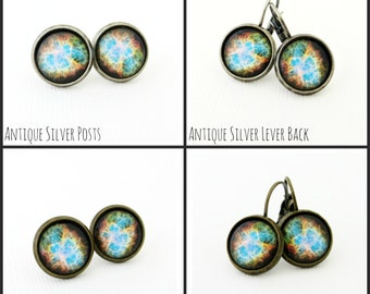 Cosmic Galaxy Space Earrings - Choose Your Style