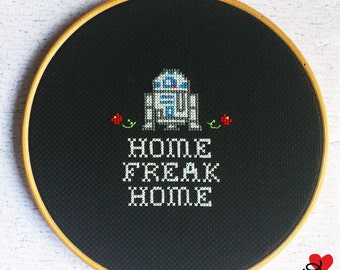 "Bastidor ""Home Freak Home"" R2D2"