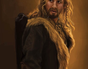 The Hobbit Fili Durin Art Print