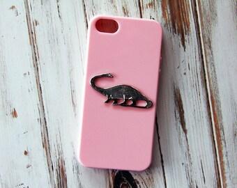 Dinosaur iPhone 5 Case Animal iPhone 6 Case Pink iPhone Case Dinosaurs iPhone 5s Case iPhone 6s  Case iPhone 6 Plus Cases Gift