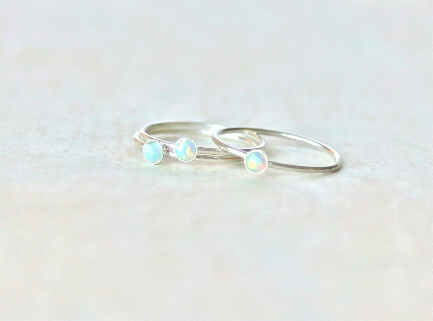 sale opal ring sterling silver by