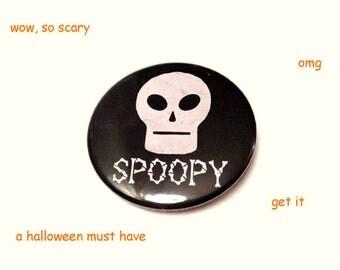 Spoopy Halloween Button (ooOOOoooOoo!)