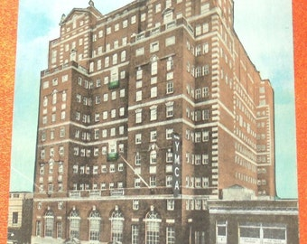 Sloane House YMCA Postcard West 34th Street & 9th, New York City,William Sloane House YMCA