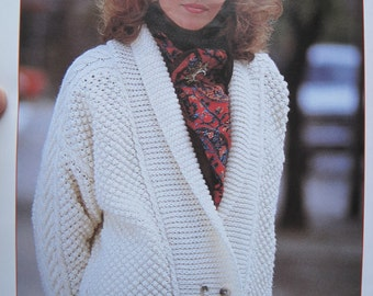 Knit Pattern Stepping Out Sweater Sizes Small, Medium, and Large