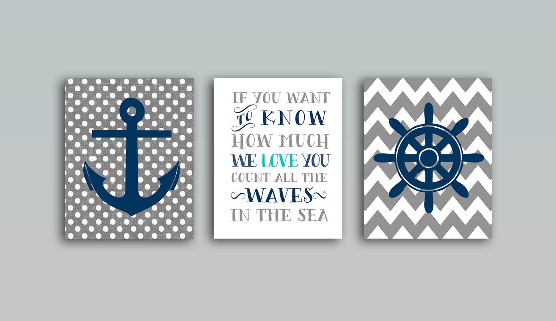 50 off nautical nursery decor nautical nursery art nautical. Black Bedroom Furniture Sets. Home Design Ideas