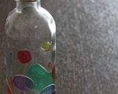 風船の祭り・Hand-painted glass bottle・Festival of Balloons