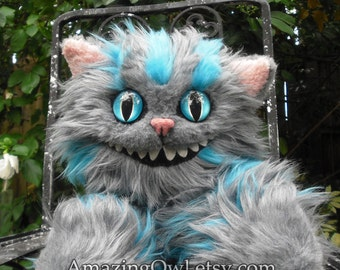 "18"" Cheshire Cat Plush - Made to Order"