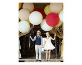 Round Balloon 36 Inch - 12 Pack - Pick Your Colour - Wedding & Event Supplies - Photo Prop