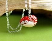 Nautilus Necklace, marine biology ocean animal pendant