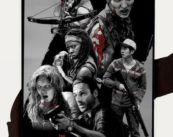 The Walking Dead, Poster Print