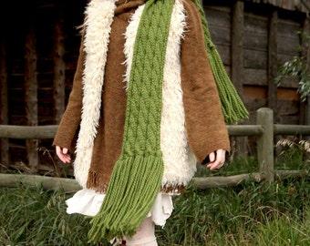 juniper wishing scarf KNITTING PATTERN