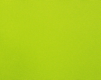 """Waterproof Canvas Solid LIME GREEN Indoor Outdoor Fabric / 60"""" Wide / Sold by the yard"""