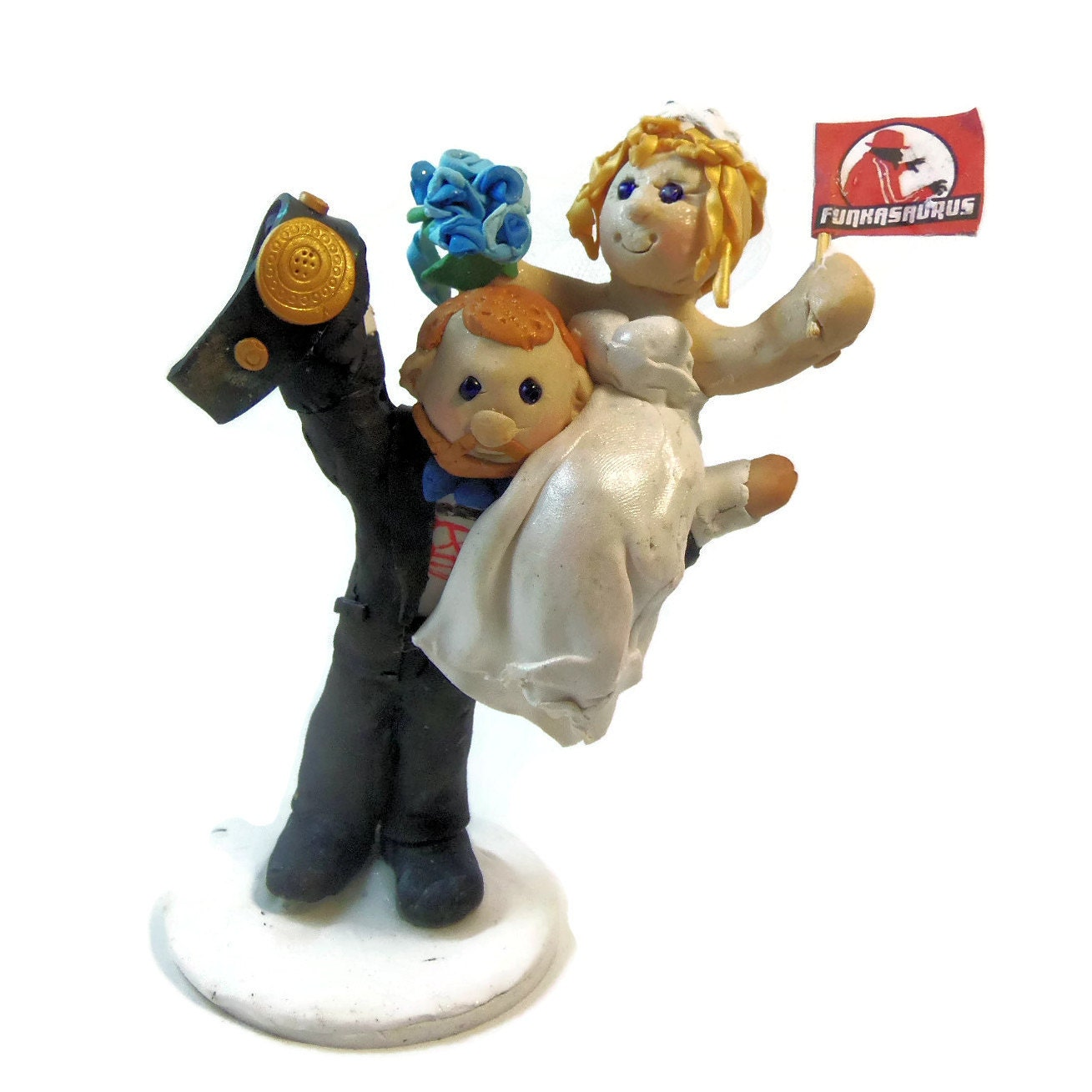 wrestling wedding cake toppers champions wedding cake topper polymer clay cake 27660