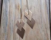Fléche // Double Chevron Arrow Earrings