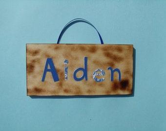 Aiden name sign
