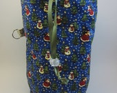 Santa is Coming to Town WIP Bag