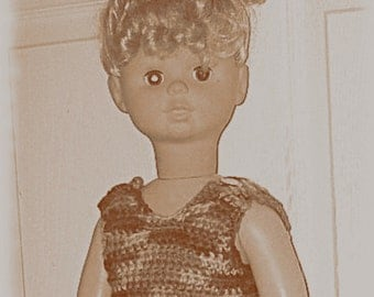 Crochet Summer Short Set Pattern for 32 inch Walking Dolls