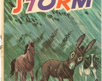 The Storm - 1973 - Vintage Kids Book