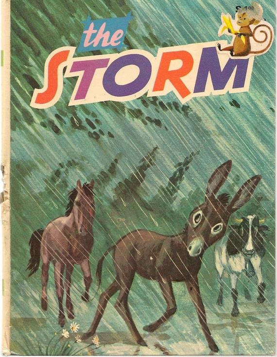 The Storm - 1973 - Vintage Kids Book