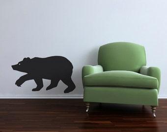 The Bear Chalkboard Wall Decal